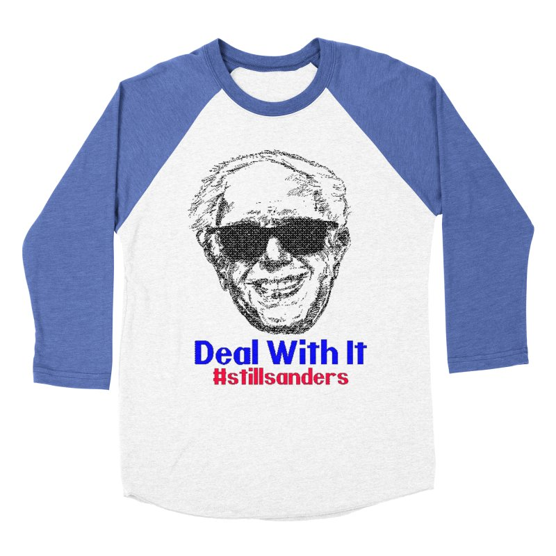 Stillsanders; Deal With It Women's Baseball Triblend T-Shirt by deathandtaxes's Artist Shop