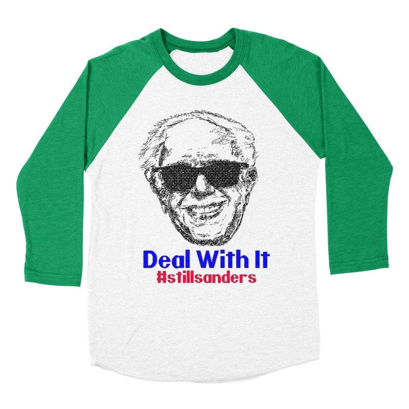 Stillsanders; Deal With It Women's Baseball Triblend T-Shirt by deathandtaxes's Artist Shop