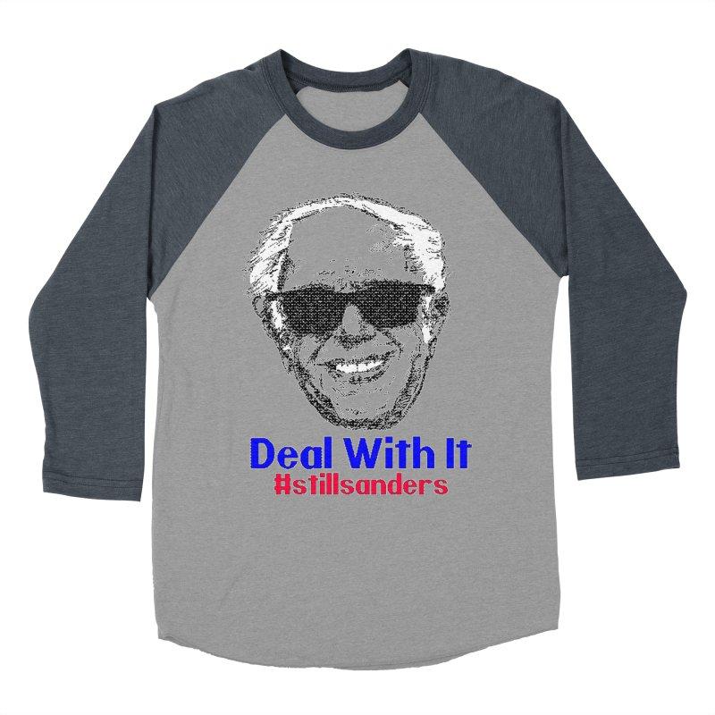 Stillsanders; Deal With It Men's Baseball Triblend T-Shirt by deathandtaxes's Artist Shop
