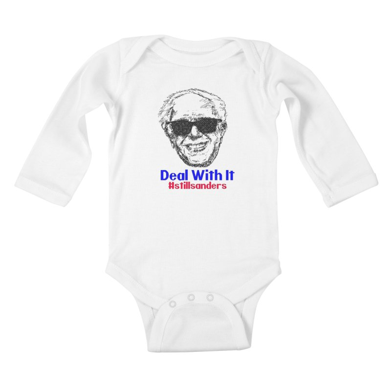 Stillsanders; Deal With It Kids Baby Longsleeve Bodysuit by deathandtaxes's Artist Shop