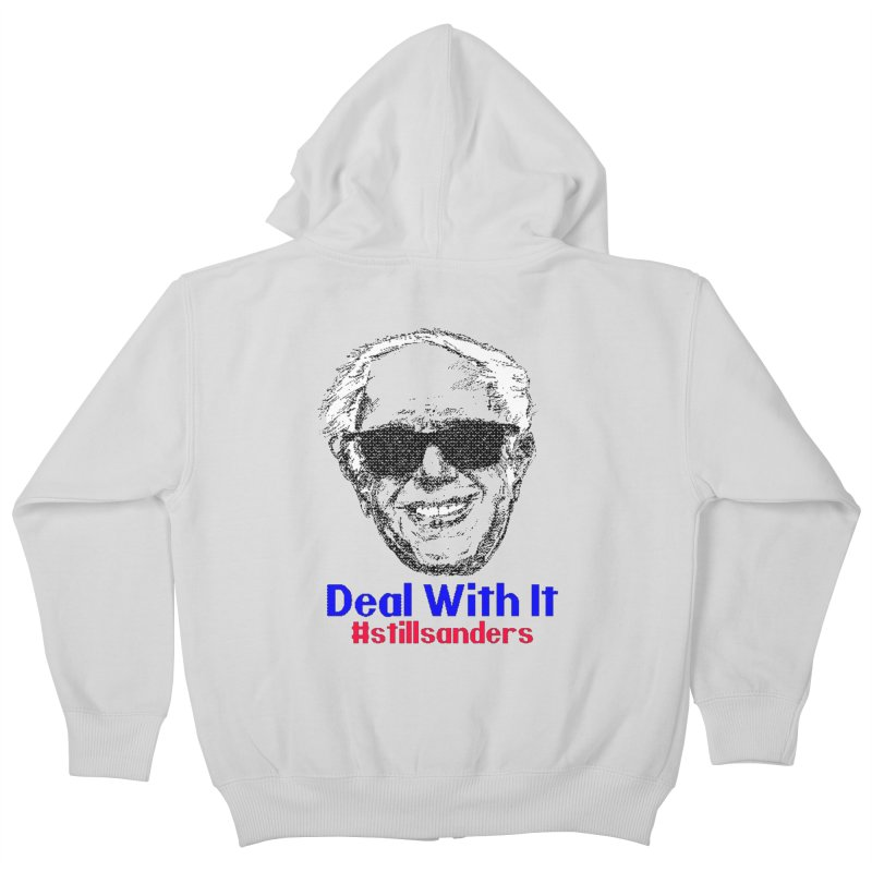 Stillsanders; Deal With It Kids Zip-Up Hoody by deathandtaxes's Artist Shop