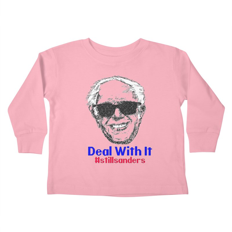 Stillsanders; Deal With It Kids Toddler Longsleeve T-Shirt by deathandtaxes's Artist Shop
