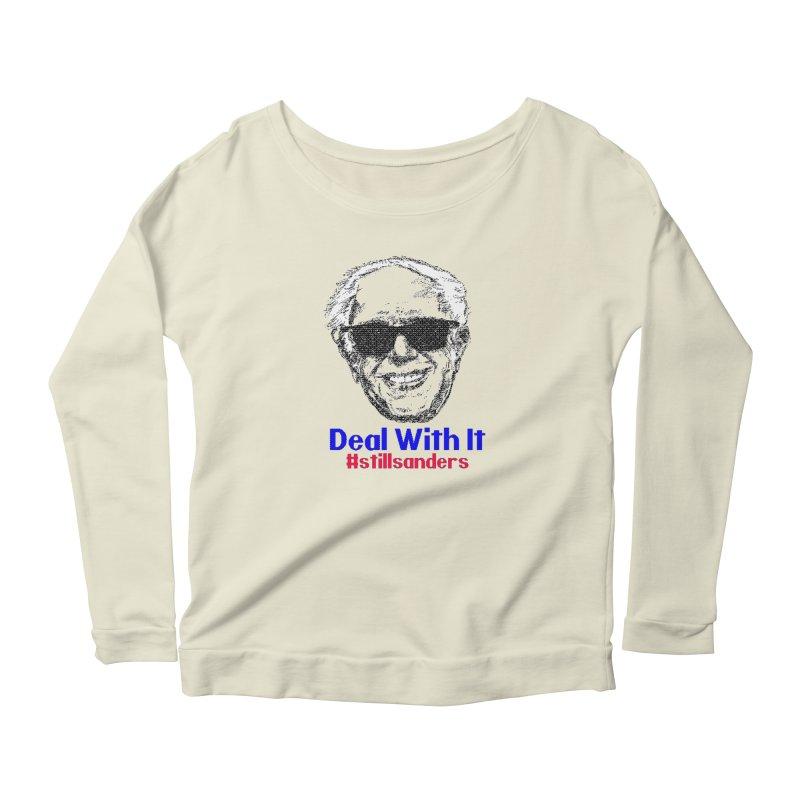 Stillsanders; Deal With It Women's Longsleeve T-Shirt by deathandtaxes's Artist Shop