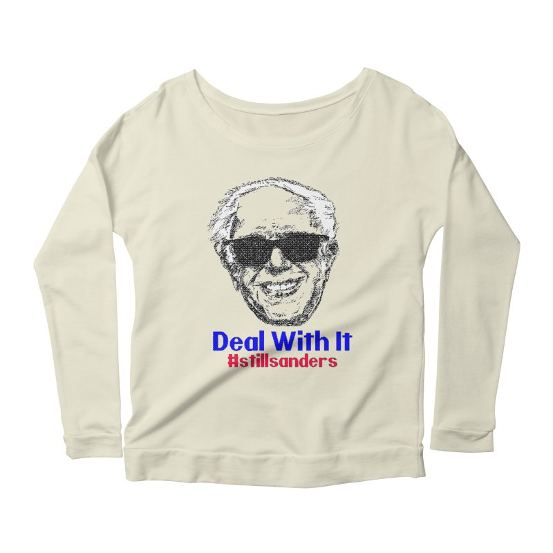 Stillsanders; Deal With It Women's Longsleeve Scoopneck  by deathandtaxes's Artist Shop