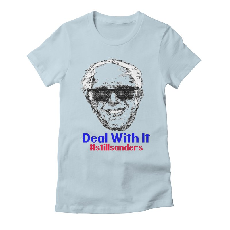 Stillsanders; Deal With It Women's Lounge Pants by deathandtaxes's Artist Shop