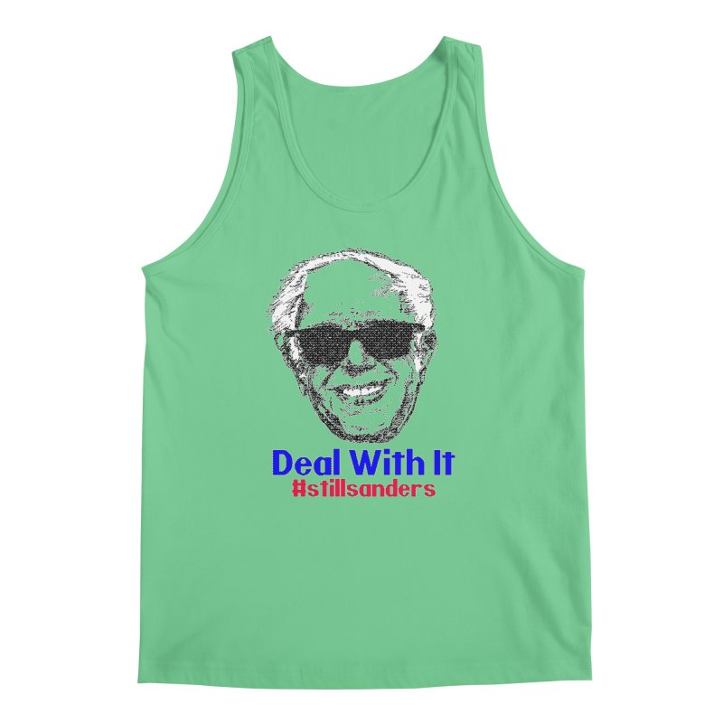 Stillsanders; Deal With It Men's Regular Tank by deathandtaxes's Artist Shop