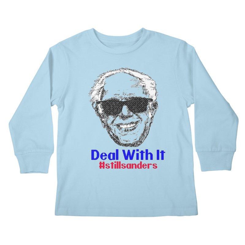 Stillsanders; Deal With It Kids Longsleeve T-Shirt by deathandtaxes's Artist Shop