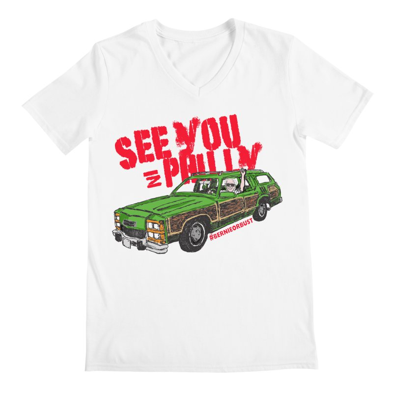 See You In Philly Men's V-Neck by deathandtaxes's Artist Shop