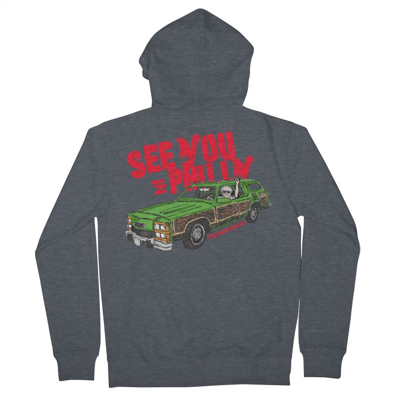 See You In Philly Men's French Terry Zip-Up Hoody by deathandtaxes's Artist Shop