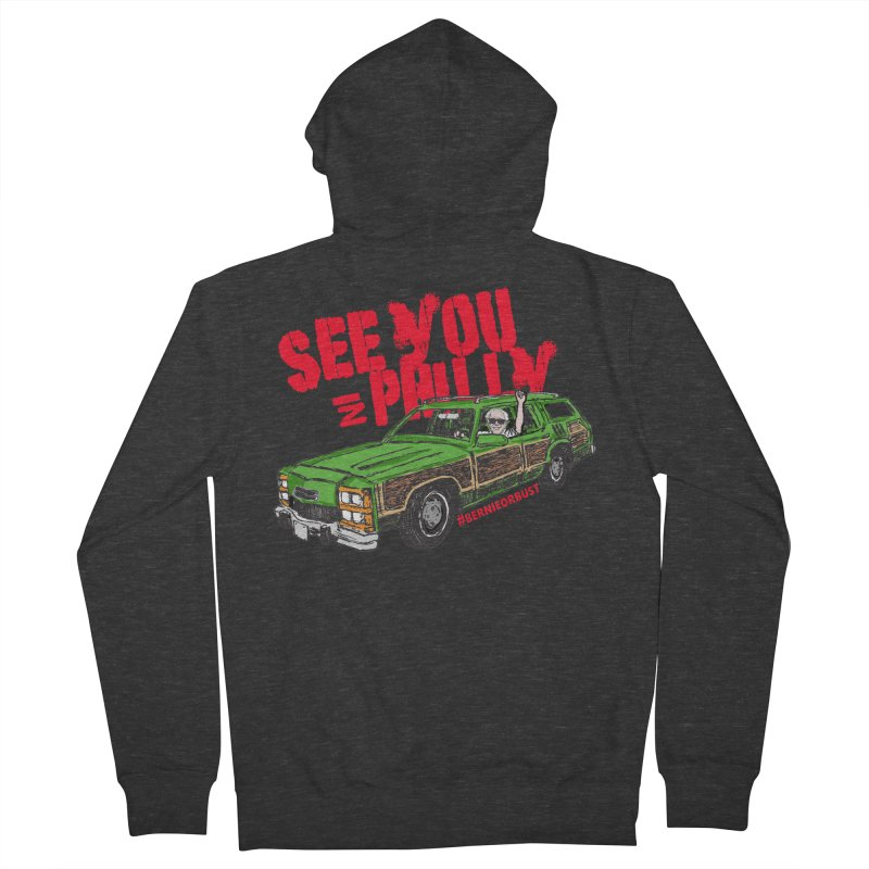 See You In Philly Men's Zip-Up Hoody by deathandtaxes's Artist Shop