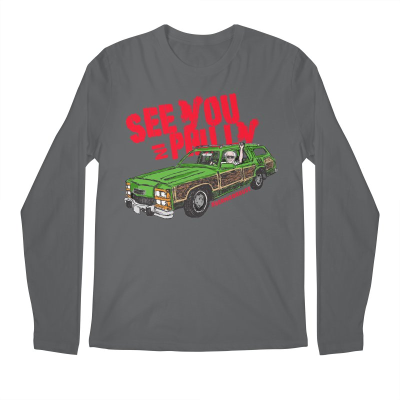 See You In Philly Men's Longsleeve T-Shirt by deathandtaxes's Artist Shop
