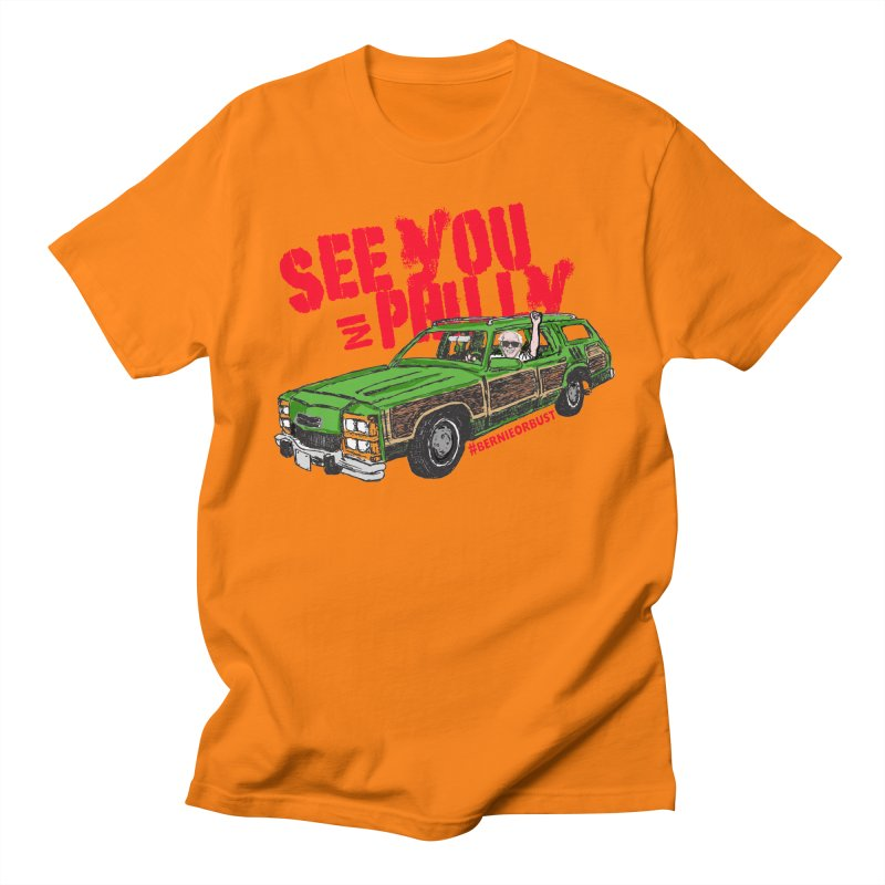 See You In Philly Men's Regular T-Shirt by deathandtaxes's Artist Shop