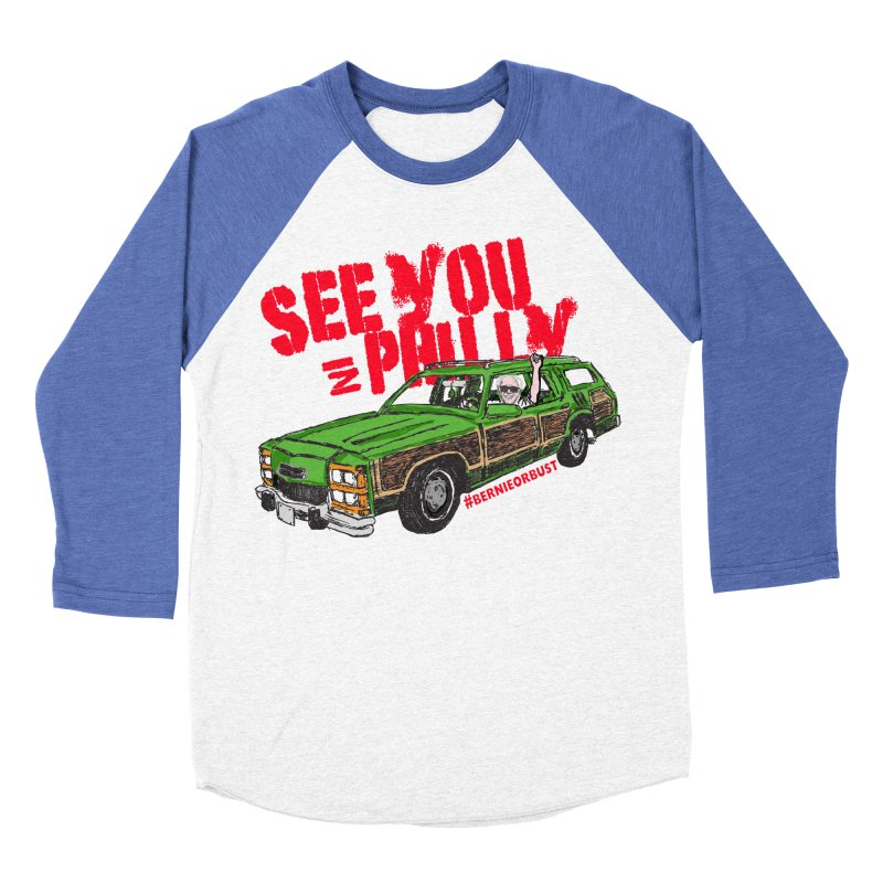 See You In Philly Men's Baseball Triblend T-Shirt by deathandtaxes's Artist Shop