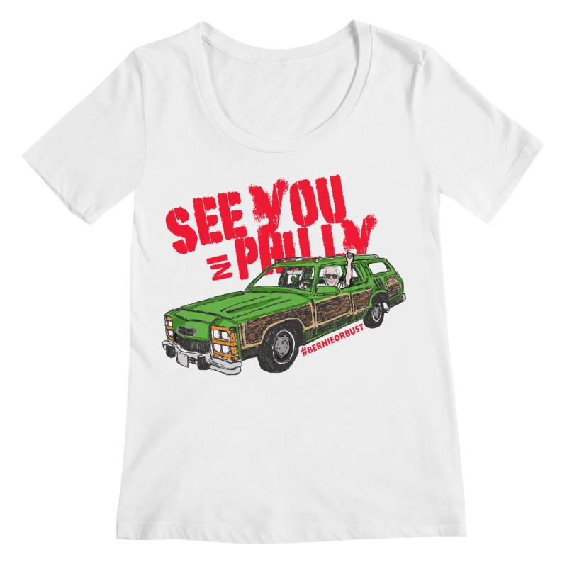 See You In Philly Women's Regular Scoop Neck by deathandtaxes's Artist Shop