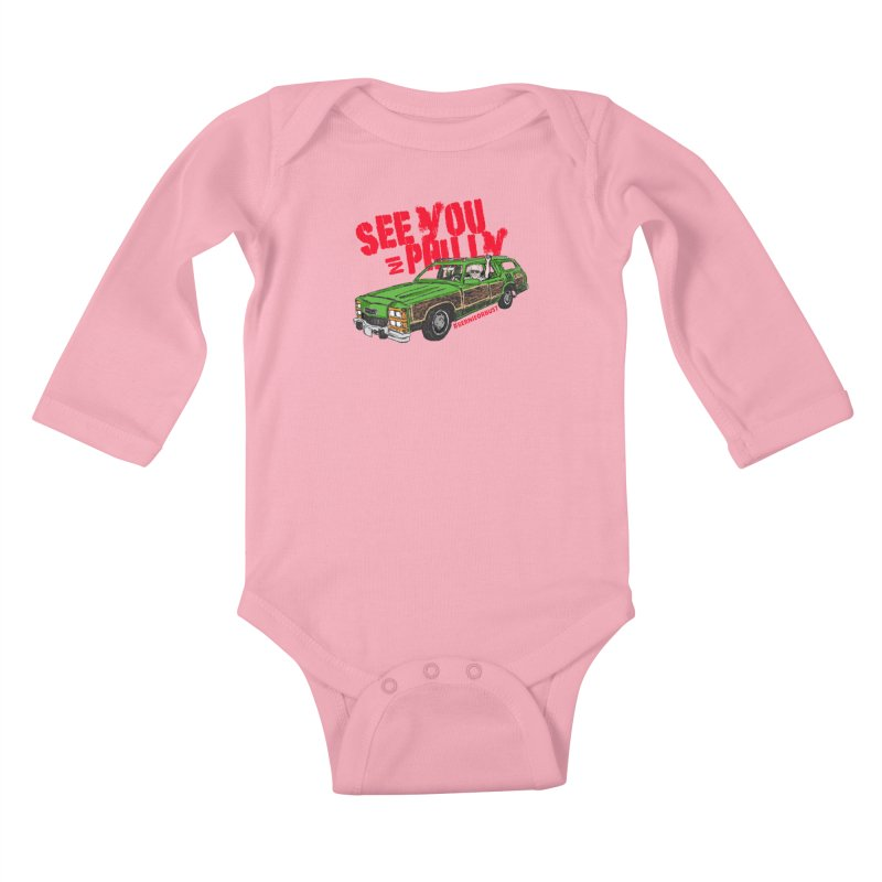 See You In Philly Kids Baby Longsleeve Bodysuit by deathandtaxes's Artist Shop