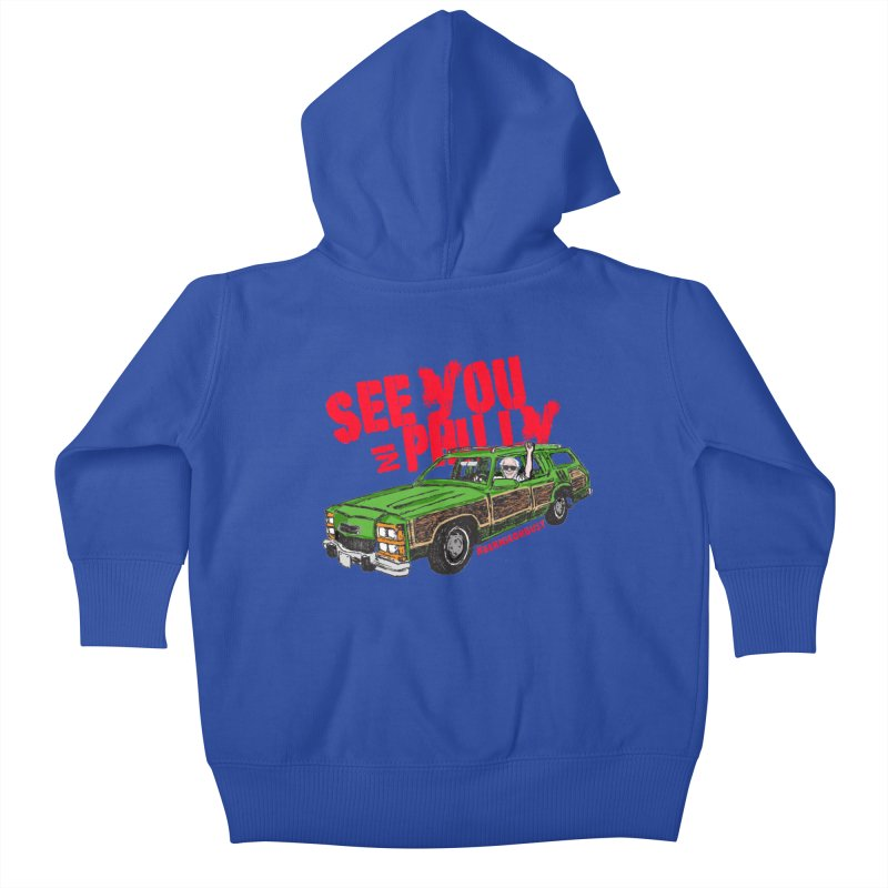 See You In Philly Kids Baby Zip-Up Hoody by deathandtaxes's Artist Shop