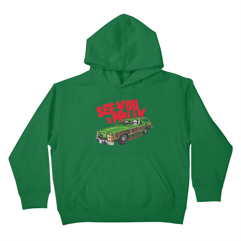 See You In Philly Kids Pullover Hoody by deathandtaxes's Artist Shop