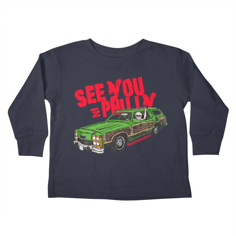 See You In Philly Kids Toddler Longsleeve T-Shirt by deathandtaxes's Artist Shop