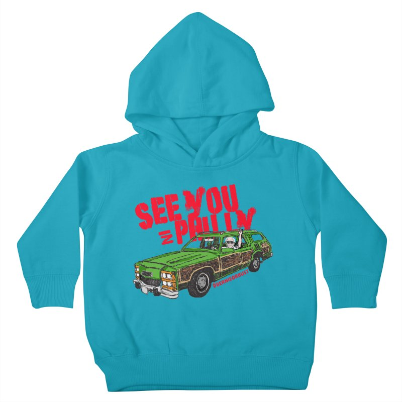 See You In Philly Kids Toddler Pullover Hoody by deathandtaxes's Artist Shop