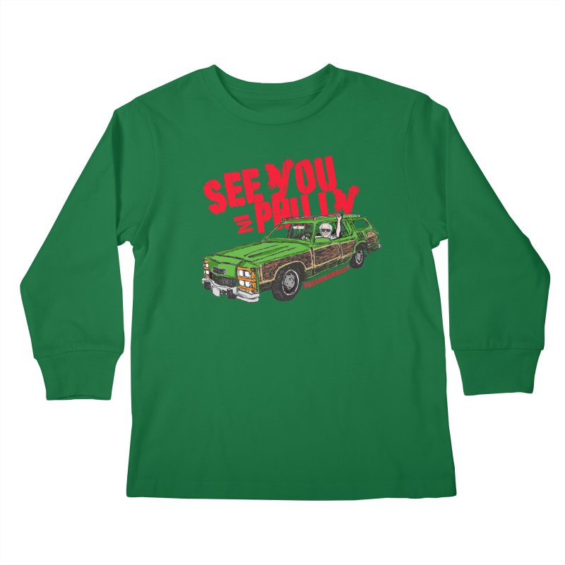See You In Philly Kids Longsleeve T-Shirt by deathandtaxes's Artist Shop
