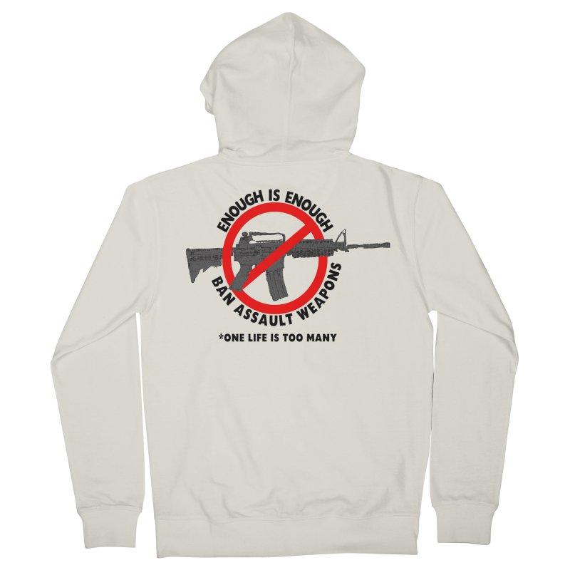 Ban Assault Weapons Women's Zip-Up Hoody by deathandtaxes's Artist Shop