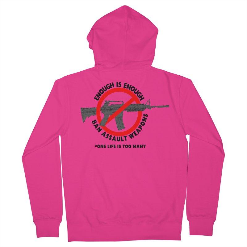 Ban Assault Weapons Men's Zip-Up Hoody by deathandtaxes's Artist Shop