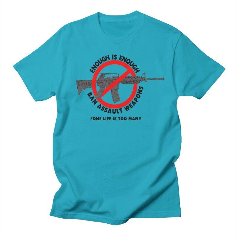Ban Assault Weapons Men's T-Shirt by deathandtaxes's Artist Shop