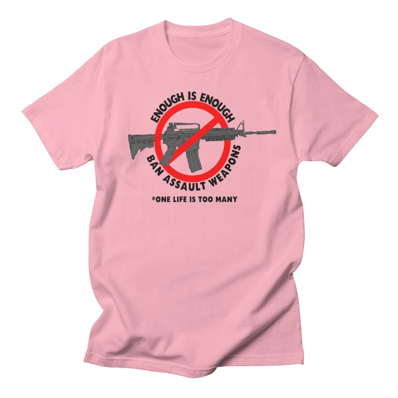 Ban Assault Weapons Men's Regular T-Shirt by deathandtaxes's Artist Shop