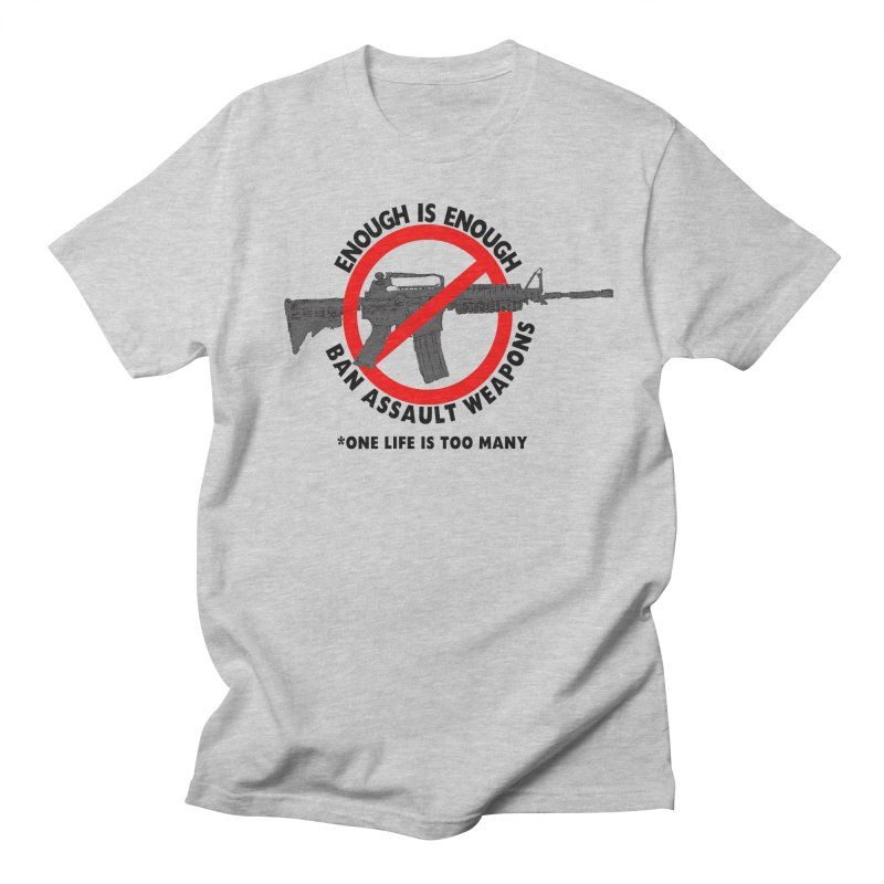 Ban Assault Weapons Men's T-shirt by deathandtaxes's Artist Shop
