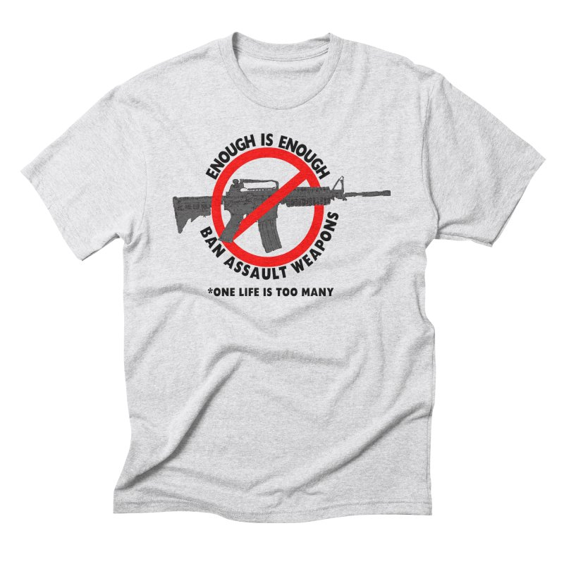 Ban Assault Weapons Men's Triblend T-Shirt by deathandtaxes's Artist Shop
