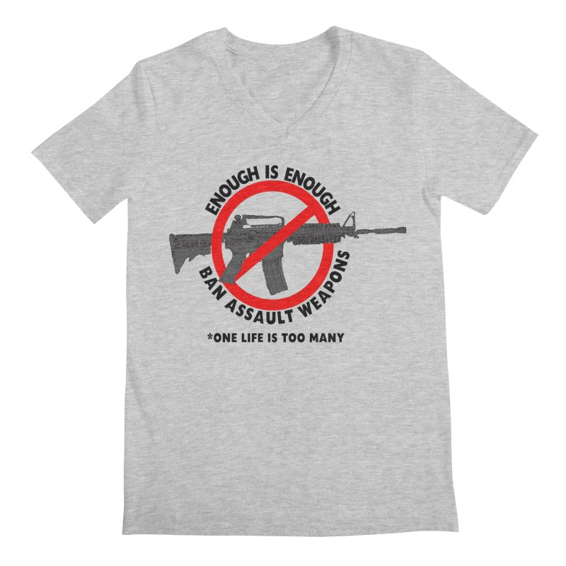 Ban Assault Weapons Men's V-Neck by deathandtaxes's Artist Shop