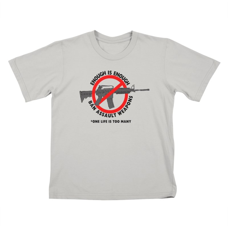 Ban Assault Weapons Kids T-shirt by deathandtaxes's Artist Shop
