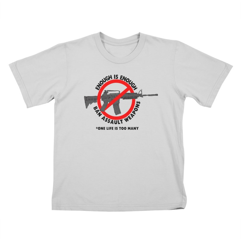Ban Assault Weapons Kids T-Shirt by deathandtaxes's Artist Shop