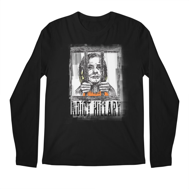Indict Hilary Tee Men's Regular Longsleeve T-Shirt by deathandtaxes's Artist Shop