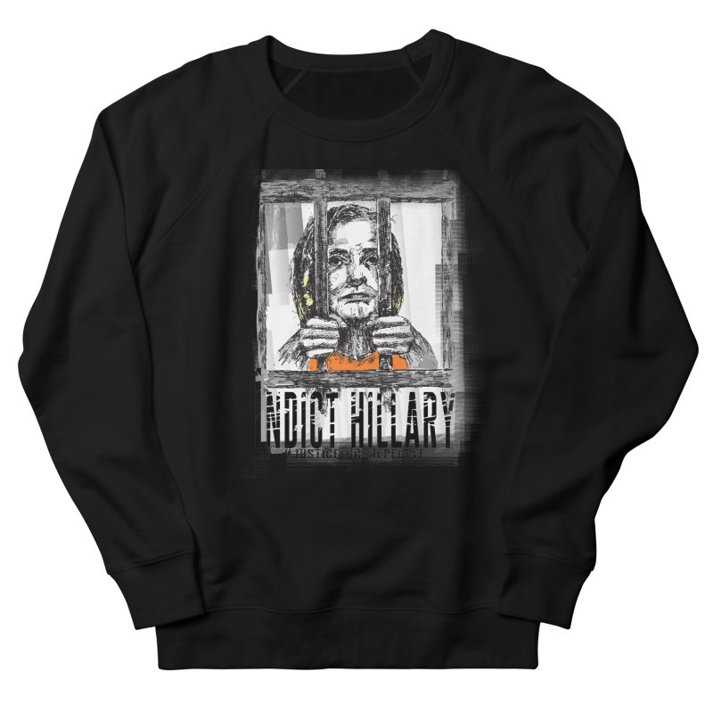 Indict Hilary Tee Women's Sweatshirt by deathandtaxes's Artist Shop