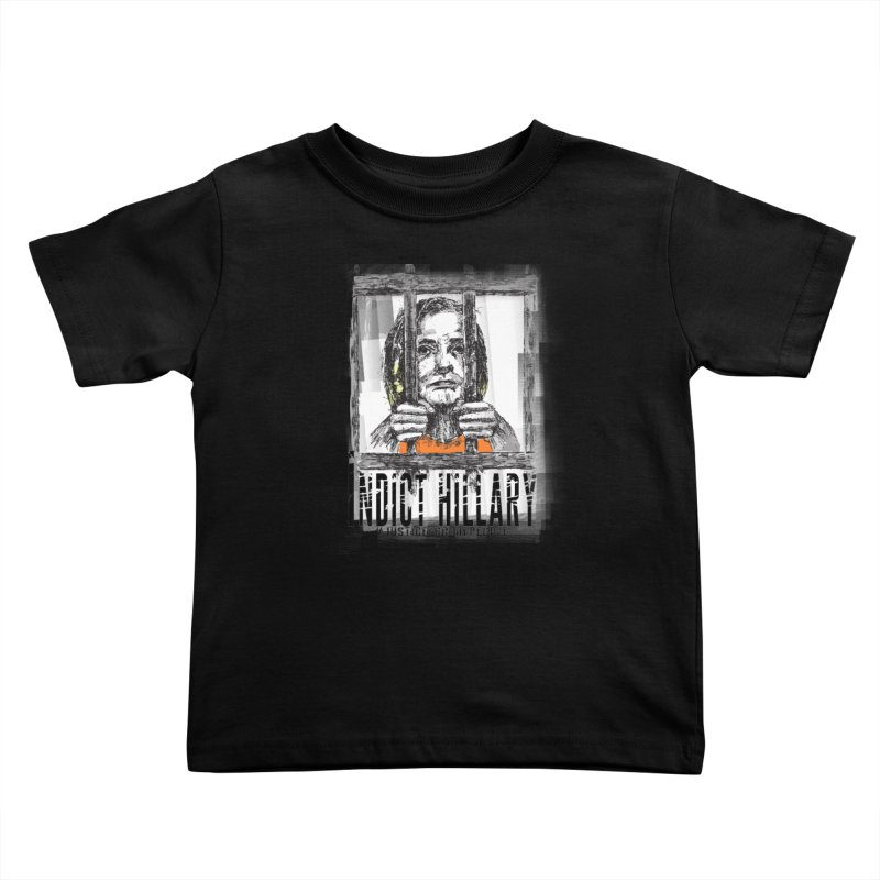 Indict Hilary Tee Kids Toddler T-Shirt by deathandtaxes's Artist Shop