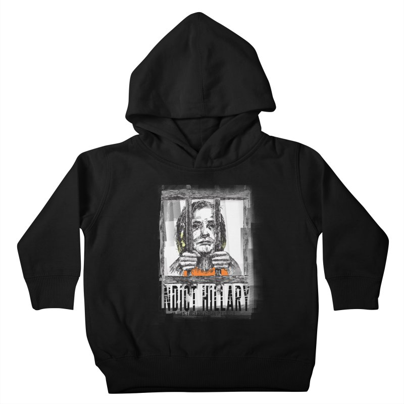 Indict Hilary Tee Kids Toddler Pullover Hoody by deathandtaxes's Artist Shop