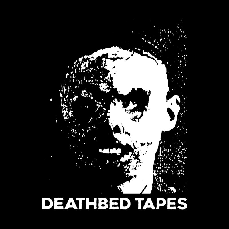 Deathbed Logo on Black (HOODIES ONLY) by deathbed tapes