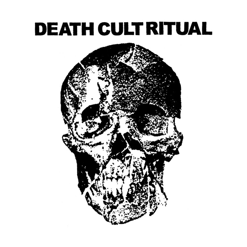 DEATH CULT RITUAL Skull by deathbed tapes