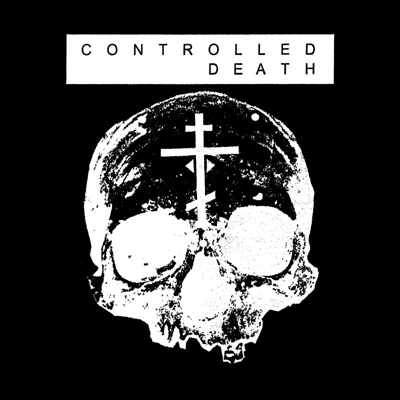 Controlled Death Skull on Black by deathbed tapes