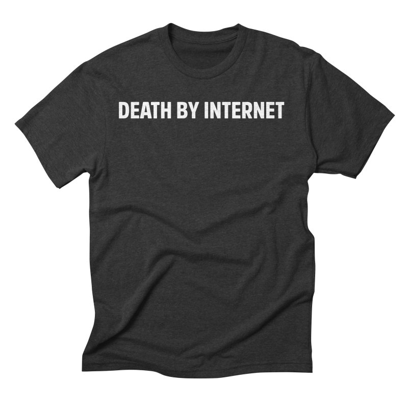 Death by Internet - Logo Landscape Men's T-Shirt by deathbyinternet's Artist Shop
