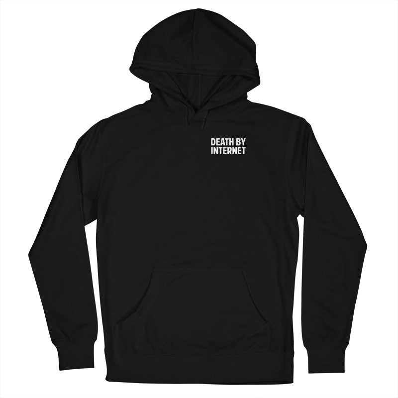 Death by Internet - Logo Stacked Men's Pullover Hoody by deathbyinternet's Artist Shop