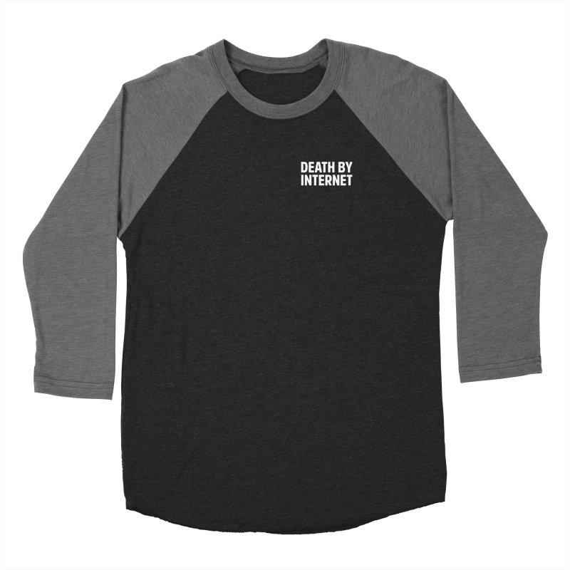 Death by Internet - Logo Stacked Men's Longsleeve T-Shirt by deathbyinternet's Artist Shop