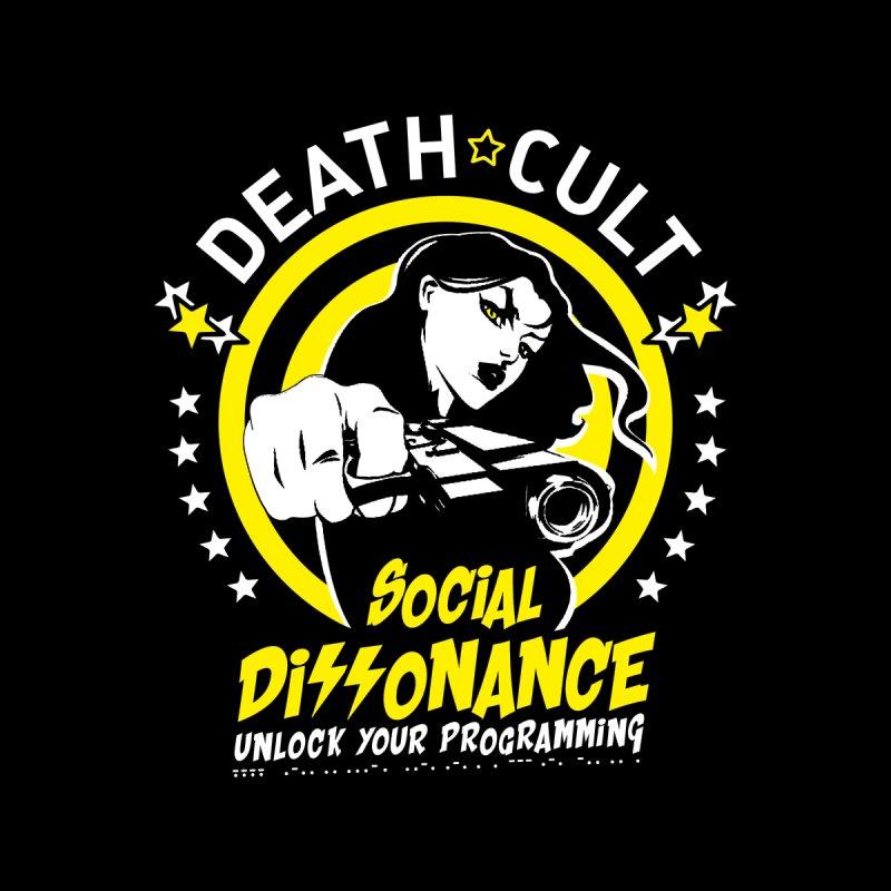 DEATHCULT SOCIAL DISSONANCE Men's T-Shirt by deathcultonline