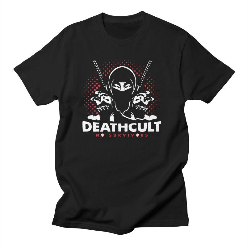 DEATHCULT - NINJA NO SURVIVORS Men's T-Shirt by deathcultonline