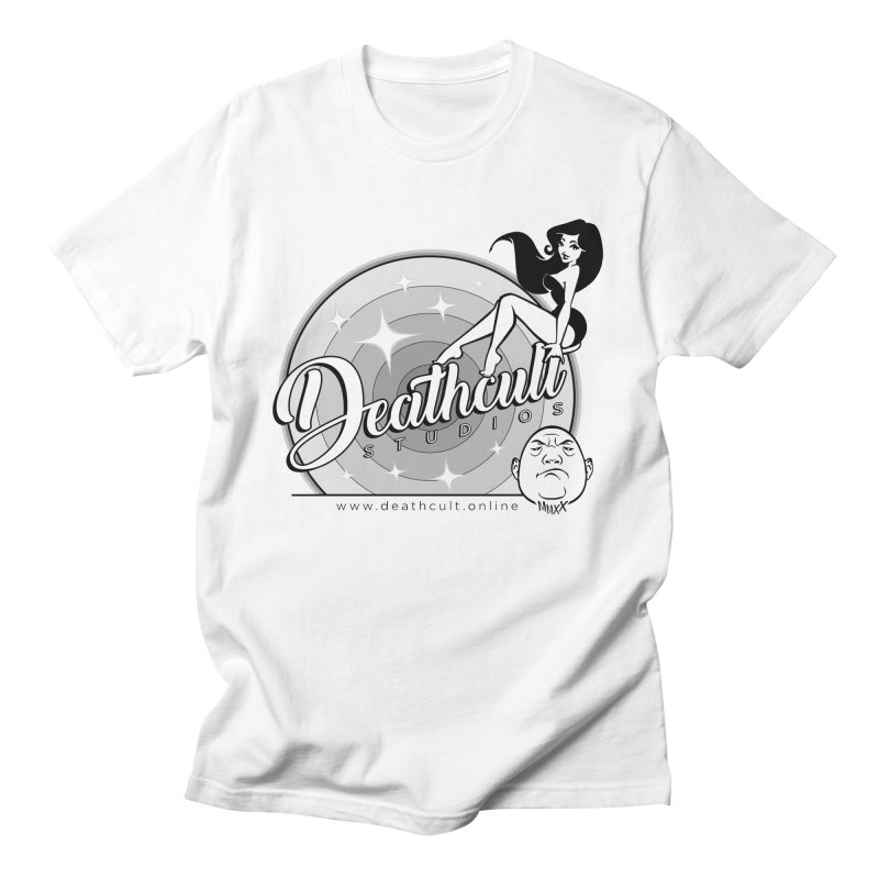 DEATHCULT - PINUP LOGO Men's T-Shirt by Deathcult Studios