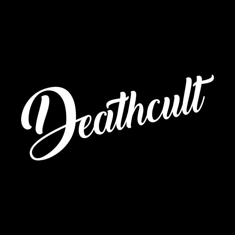 DEATHCULT - CURSIVE LOGO Men's T-Shirt by deathcultonline