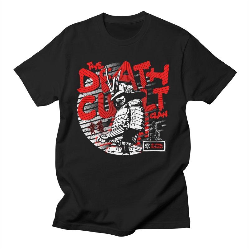 DEATHCULT - SAMURAI - BLACK TEE Men's T-Shirt by Deathcult Studios