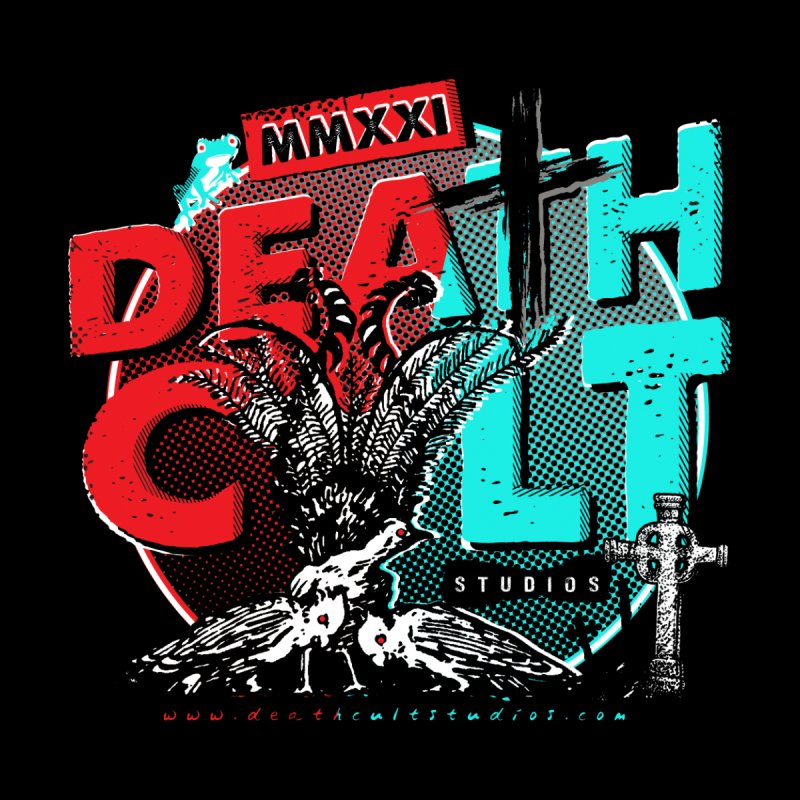 Deathcult Studios - Lyre Lyre - Black T-Shirt Men's T-Shirt by Deathcult Studios