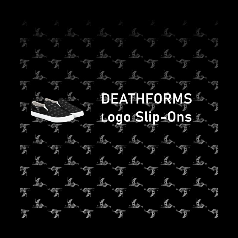 Deathforms Logo Shoes Men's Shoes by DEATHFORMS